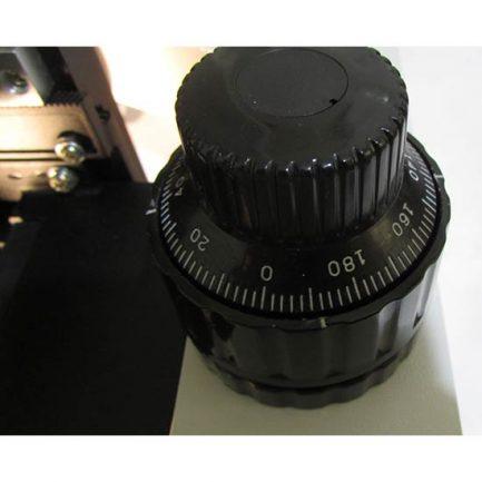 سیستم فوکوس دو مرحله ای میکروسکوپ بیولوژی 1600 برابر مدل xsz-801bn