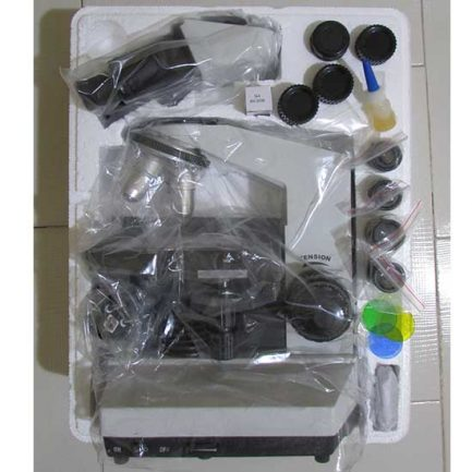چیدمان قطعات و پک میکروسکوپ بیولوژی 1600 برابر مدل XSZ-801BN