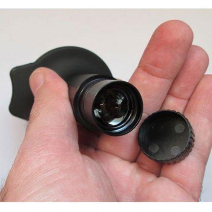 نمای لنز دوربین 5 مگاپیکسلی مخصوص انواع میکروسکوپ بیولوژی
