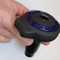 دوربین 5 مگاپیکسلی مخصوص انواع میکروسکوپ بیولوژی