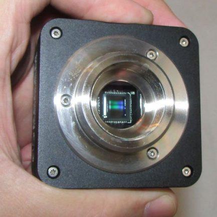 بدنه دوربین 10 مگاپیکسلی مخصوص انواع میکروسکوپ و استریومیکروسکوپ Industrial Digital Camera