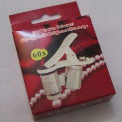 میکروسکوپ موبایل 60 برابر دارای کلیپس مخصوص - Universal-Clip-Type-LED-Cellphone-Microscope-60X