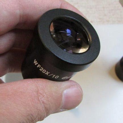 لنزهای چشمی واید استریو میکروسکوپ زومیک سه چشمی 14 تا 90 برابر مدل XTL7045-T2