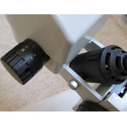 نمای سیستم فوکوس استریو میکروسکوپ زومیک سه چشمی 14 تا 90 برابر مدل XTL7045-T2