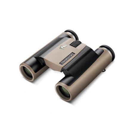 دوربین دوچشمی جیبی زاواروسکی Swarovski CL Pocket 10x25 خاکی