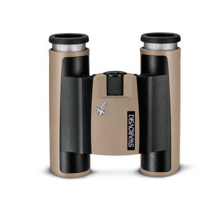 دوربین دوچشمی جیبی زاواروسکی Swarovski CL Pocket 10x25 رنگ خاکی