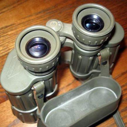 نصب بند بروی دوربین دوچشمی کلاسیک زاواروسکی مدل Swarovski Habicht 8x30