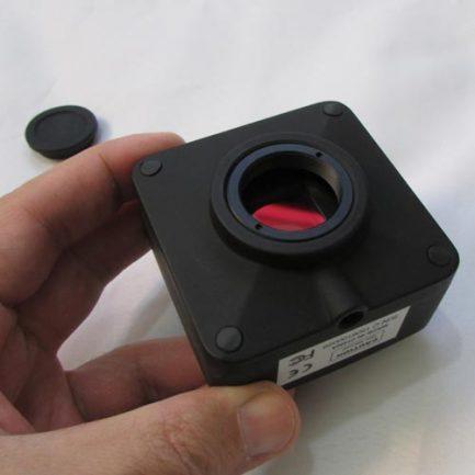 بدنه اصلی دوربین 14 مگاپیکسلی مخصوص انواع میکروسکوپ و استریومیکروسکوپ Industrial Digital Camera