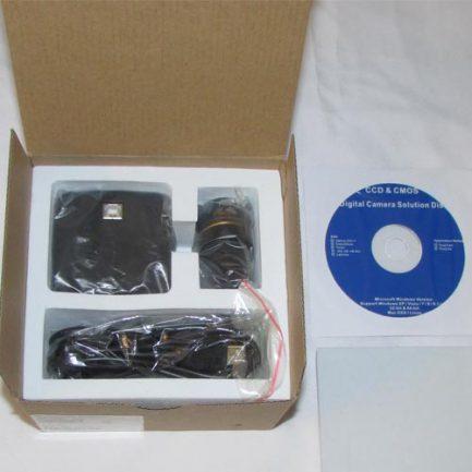 بسته بندی دوربین 14 مگاپیکسلی مخصوص انواع میکروسکوپ و استریومیکروسکوپ Industrial Digital Camera