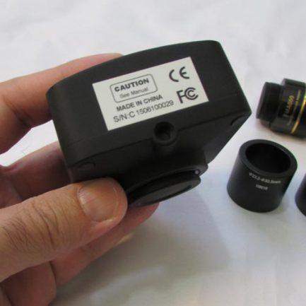 پورت اتصال به سه پایه دوربین 14 مگاپیکسلی مخصوص انواع میکروسکوپ و استریومیکروسکوپ Industrial Digital Camera Tripod Adapter