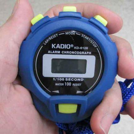 کرنومتر 3 کلیده دیجیتالی - کرنومتر ورزشی