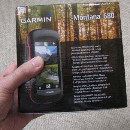 کارتن و بسته بندی جی پی اس مونتانا 680 - Gps Montana 680 Pack