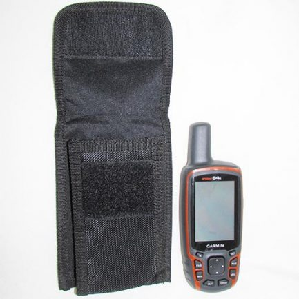 مشاهده ابعاد کاور جی پی اس دستی گارمین در کنار جی پی اس GPS Map64S