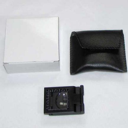 بسته بندی لوپ زمین شناسی 10 برابر دارای لامپ ، کیف و چراغ