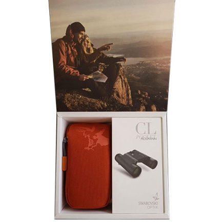 چیدمان بسته بندی کیف دوربین مدل جیبی کوهستان زاواروسکی - جدیدترین دوربین شکاری زاواروسکی
