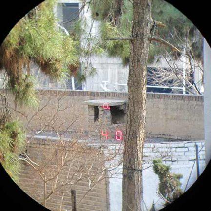 نمای چشمی و تست فاصله یابی مسافت سنج لایکا مدل Rangemaster 2000-B