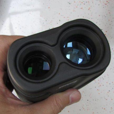 نمای لنزهای جلوی فاصله یاب بوشنل 1200 متری مدل bushnell rangefinder 7x32