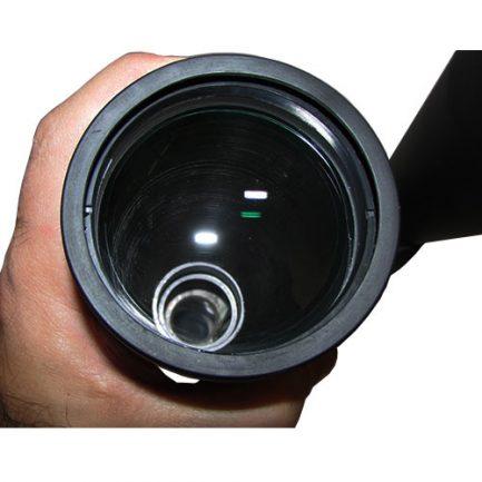 مشاهده کوتینگ سبز و بنفش رنگ لنز شیئی دوربین نجومی بریکر 15 در 80 Breaker 15x80