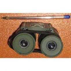 نمای عدسی های چشمی دوربین شکاری بوشنل جیبی مدل bushnell binoculars 12x25