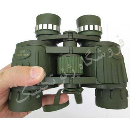قرار گیری در دست دوربین شکاری نورکونیا مدل Norconia 8X40