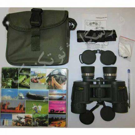 جعبه گشایی دوربین شکاری سیکر 8x42 (دوربین سکر)