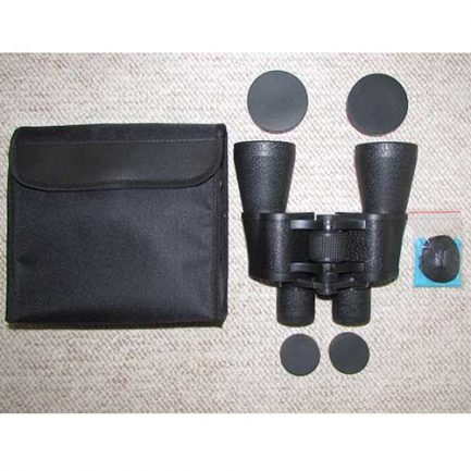 جعبه گشایی دوربین شکاری زایس 20x60 - کیف برزنتی - بند- پارچه تنظیف- درپوش های دوربین