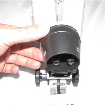 نمای لنزهای شیئی لوپ 80 برابر ke-s6b