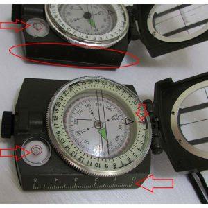 مقایسه تفاوت های یک مدل تقلبی با مدل اصلی قطب نمای سانتو