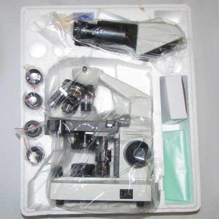 چیدمان بسته بندی میکروسکوپ 1600 برابر بیولوژی دو چشمی مدل Ke-20
