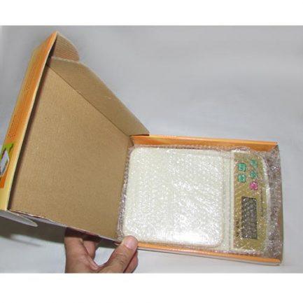 جعبه گشایی ترازوی دیجیتال electronic compact scale