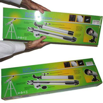 کارتن و بسته بندی تلسکوپ ارزان قیمت 50600 دانش آموزی