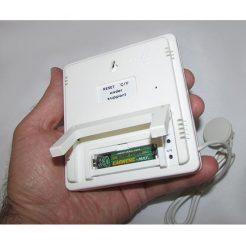 باتری گذاری دماسنج و رطوبت سنج دیجیتال سنسور دار سه خانه مدل HTC-2