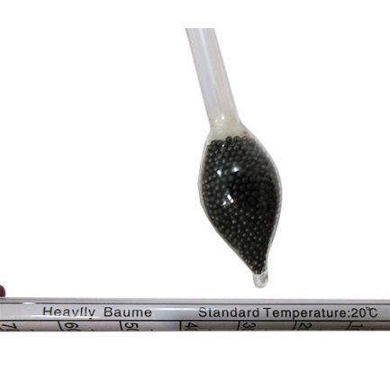 بخش پایینی چگالی سنج - ساچمه های ریز و دمای کاری توصیه شده