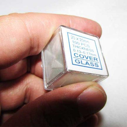 لامل 100 عددی کیفیت مرغوب سایز 20x20 mm با ضخامت 0.17-0.13