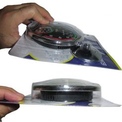 نمای بغل دماسنج رطوبت سنج دو کاره عقربه ای رومیزی/دیواری مدل Senior