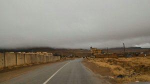 اوضاع جوی بسیار ناپایدار محل سقوط هواپیما منطقه سمیرم که مه کوه ها رو پوشونده