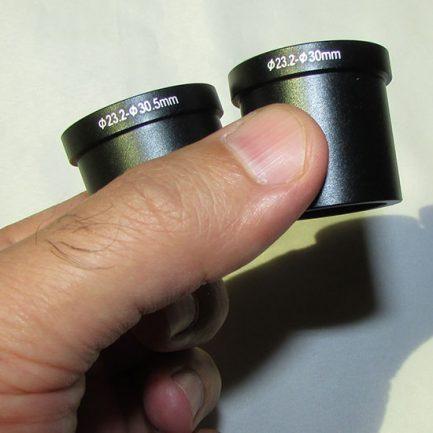 رابط های ۳۰ و ۳۰.۵ میلیمتری دوربین دیجیتال مخصوص میکروسکوپ