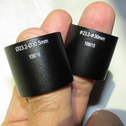 رابط های ۳۰ و ۳۰.۵ میلیمتری دوربین دیجیتال میکروسکوپ ۵ مگاپیکسل