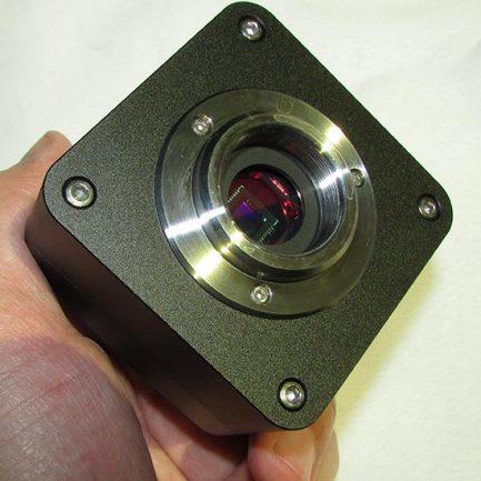 بدنه و لنز اصلی دوربین سی سی دی مخصوص میکروسکوپ 5MP