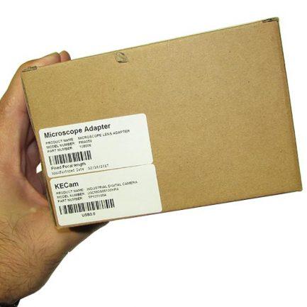 بسته بندی و کارتن دوربین سی سی دی مخصوص میکروسکوپ 5MP