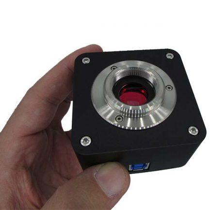 سنسور و لنز اصلی دوربین میکروسکوپ CCD 18 MP دارای پورت USB3