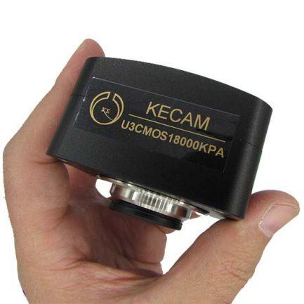 پارت نامبر دوربین میکروسکوپ CCD 18 MP دارای پورت USB3