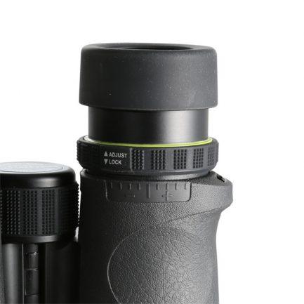 نمای سیستم فوکوس لنز چشمی دوربین ونگارد مدل Endeavor ED II 8x42