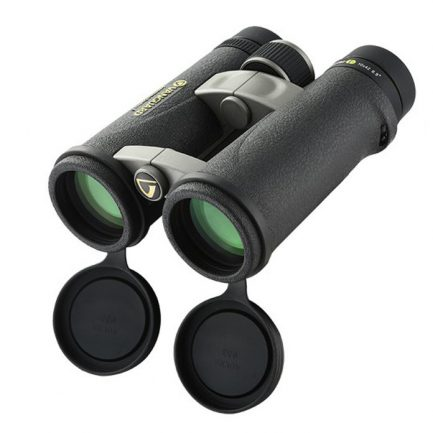 دوربین Endeavor ED 10x42 و مشاهده لنزهای اصلی و درپوش های آن