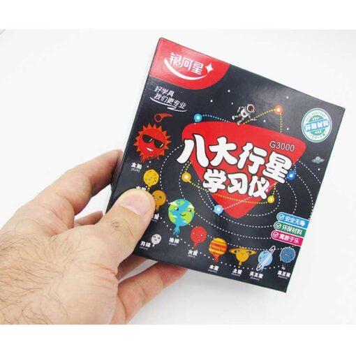 کارتن ماکت منظومه شمسی برای کودکان سایز کوچک ارزان