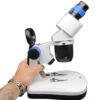 ابعاد بینوکولار دو چشمی ۴۰ برابر مدل CS-5CAW